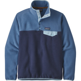 Patagonia Synchilla Snap-T Lightweight Pullover Dam Neo Navy w/Woolly Blue